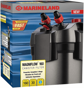 small canister filter Marineland Magniflow 160