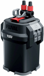 small canister filter Fluval 107 Performance Canister
