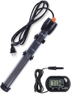 best turtle water heaters Orlushy submersible aquarium heater 200w