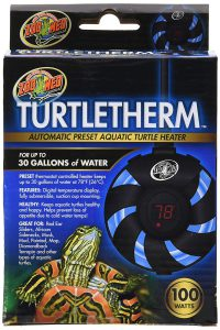 best turtle water heaters Zoo Med Turtletherm Aquatic Turtle Heater 100W